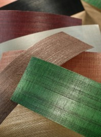Glazed Abaca Grasscloth