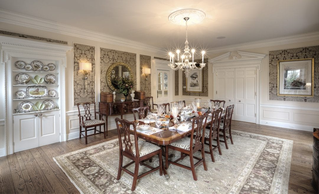 Traditional Dining Room Fit For Formal & Informal Gatherings